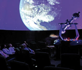 2014-07-17 - Judenburg Planetarium - Aushang Foto